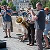 Performing at the Karlsbrücke