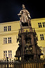 Statue of Charles 4th, near Charles Bridge.