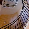 Staircase, hotel Maria Prague