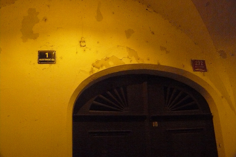 Cool door - Prague At Night - Day1