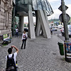 "Picture me in front of the attraction - 14<br /> Building ""Ginger and Fred"" by Frank Gehry, Prague"