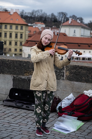 Musician at St. Charles Bridge