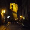 Prague street in old town