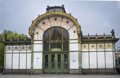Karlsplatz Stadtbahn (Otto Wagner, 1899)