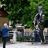 Picture me in front of the attraction - 9<br /> Franz Kafka monument, Prague