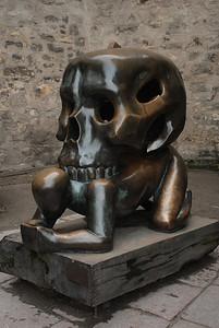 Sculpture at Prague Castle.
