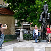Picture me in front of the attraction - 7<br /> Franz Kafka monument, Prague