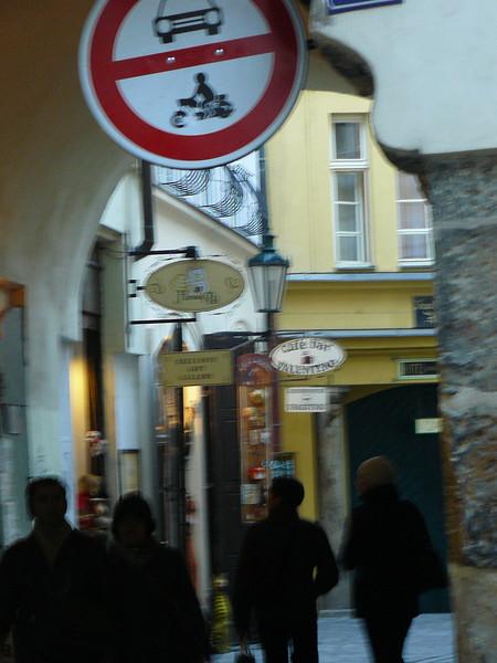 Typical Prague passageway