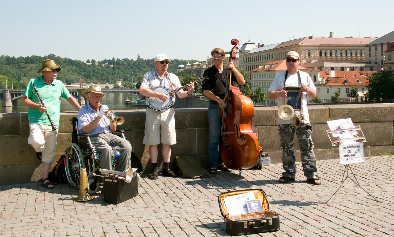 Jazz on St. Charles Bridge