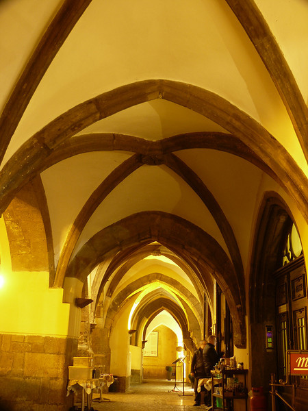 Vaulted ceiling - long exposure