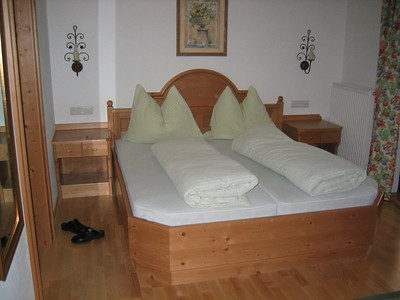 They forgot to make the bed! Salzburg, Austria