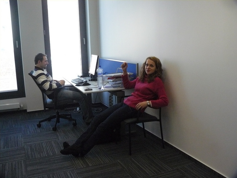 Eva and Wayne - Kentico Office pic (wish I took more of these as the office are amazing)
