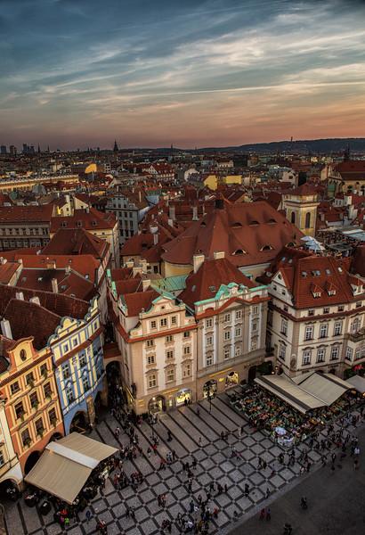 Sunset Glow in Prague #2