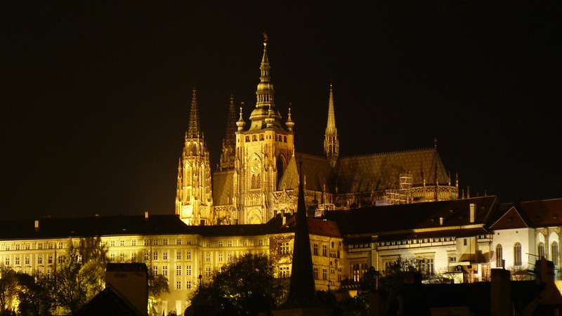 Awesome Castle Pic - Prague At Night - Day1