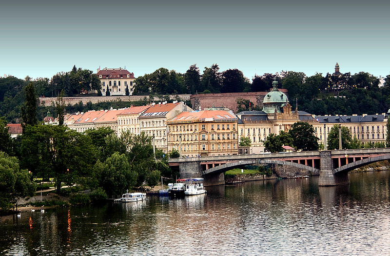 View from St. Charles Bridge