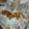 Glass art horse