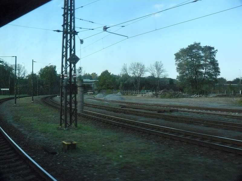 Trains in Prague are all electric to cut out alot of the noise and polution.