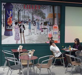 Vienna: Naschmarkt cafe