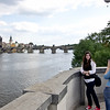 Picture me in front of the attraction - 3<br /> At the river, Prague