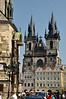 Old Town Hall (Staromestska Radnice) and Tyn Church, Prague