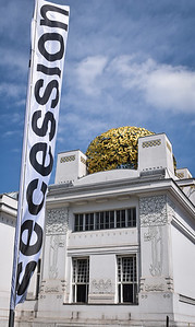 Vienna: The Secession Building, south facade