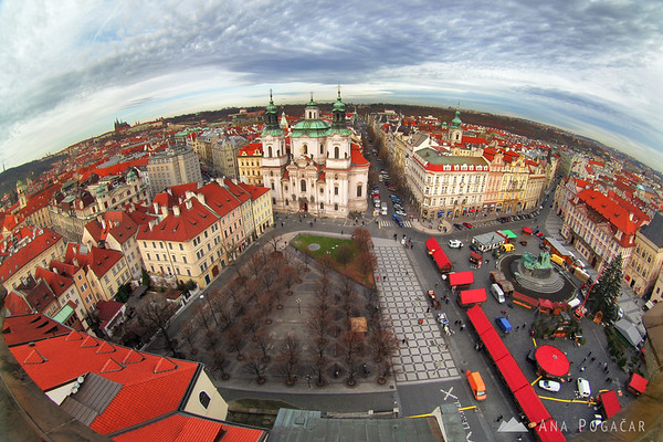 View from the Old Town Hall Tower
