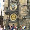 Den astronomiske klokken i Praha, med klokkespill kvar time