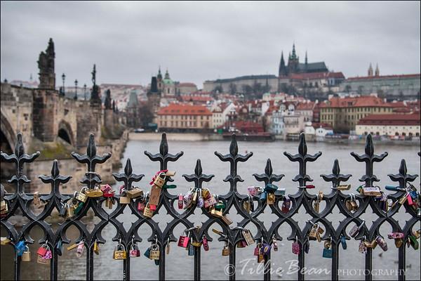 Prague - Charles Bridge and Castle