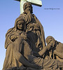 Tending to Christ<br /> <br /> This is one of the statues on the Charles Bridge depicting a Biblical scene.
