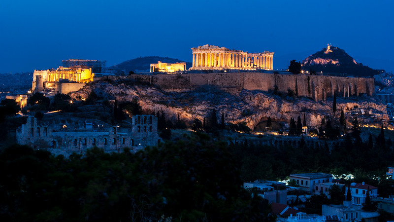 The Acropolis, Athens.  May 2006