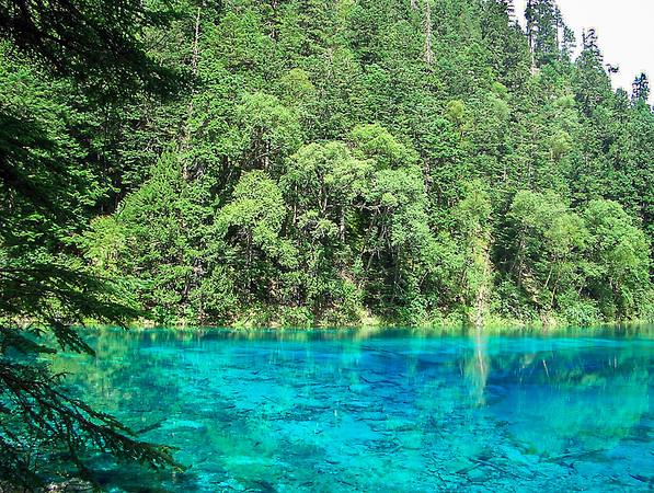 Jiuzhaigou National Park, Sichuan Province