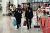 Muslim airport employees.
