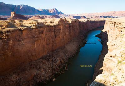 8822,  Colorado River under Navajo Bridge, AZ,