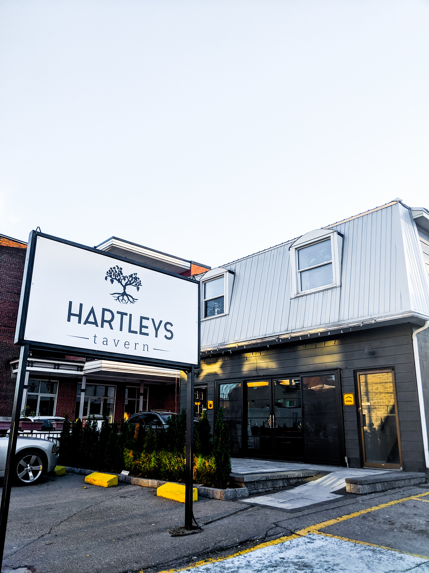 Hartley's Tavern is one of the best Prince Edward County restaurants in Picton, Ontario.