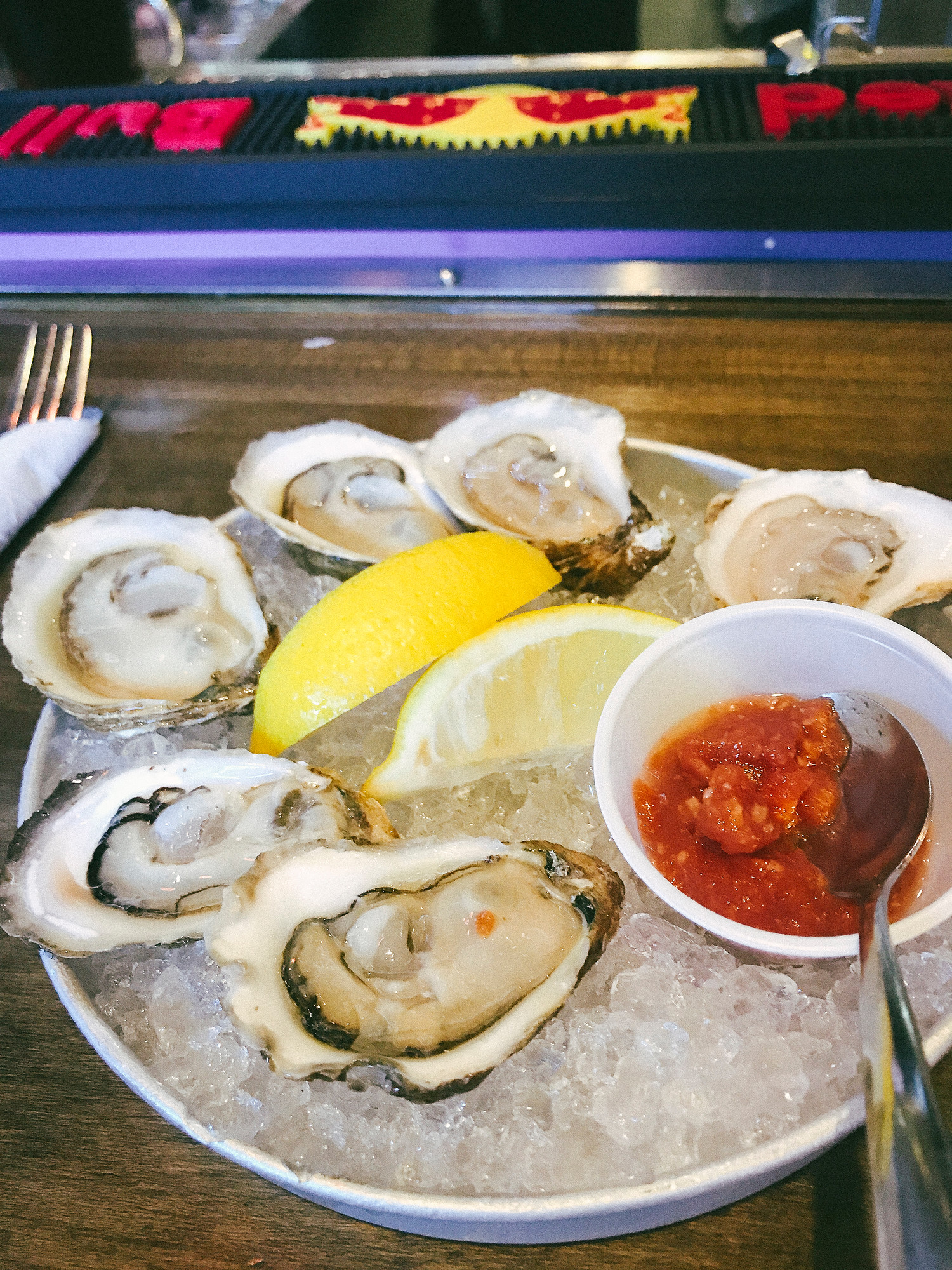 Where to Eat in PEI: Olde Dublin Pub has buck a shuck oysters from 4-6pm.
