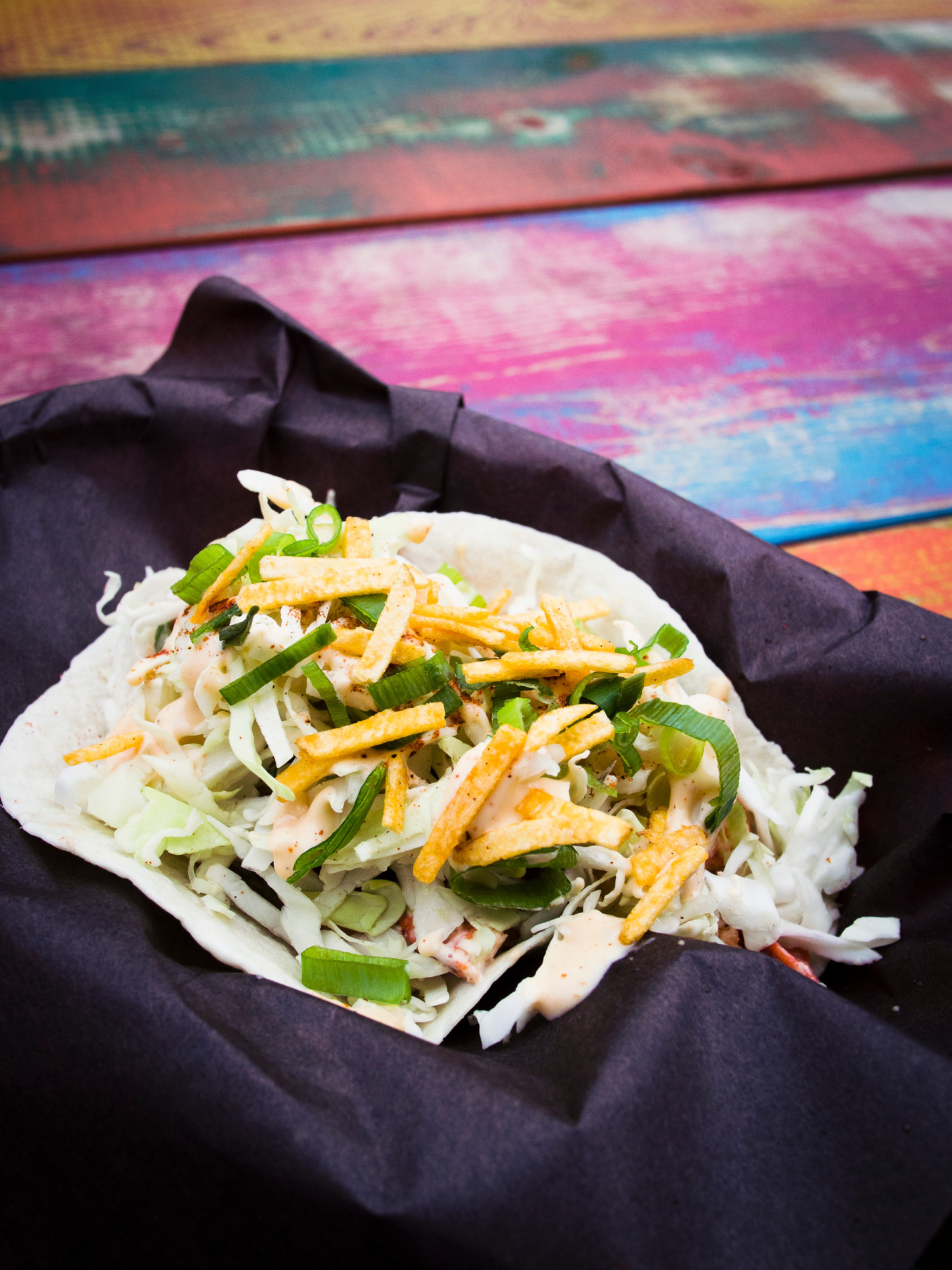 Where to Eat in PEI: Lobster taco at Sugar Skulls in Charlottetown, Prince Edward Island