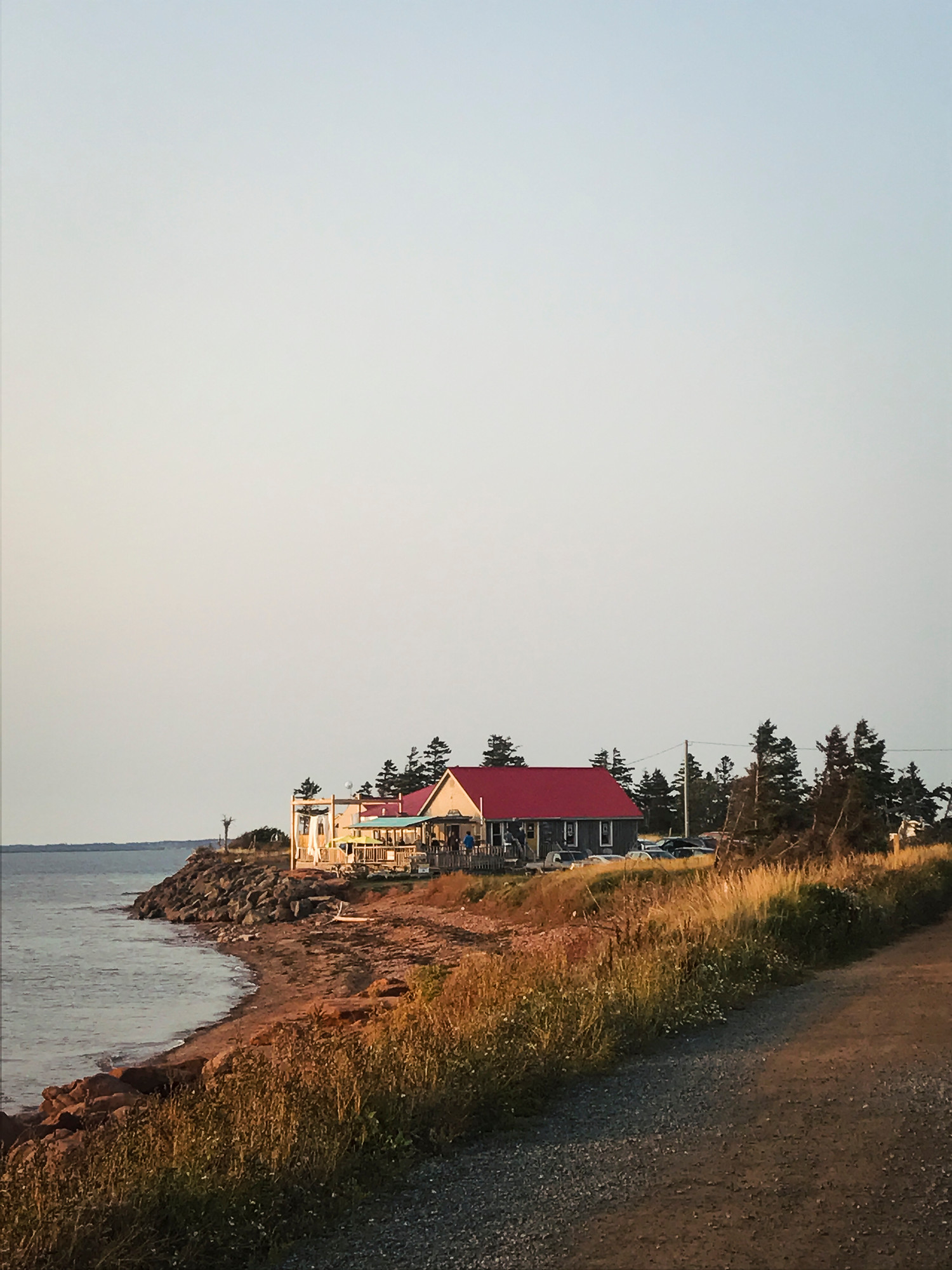 Where to eat in PEI: Point Prim Chowder House has the best chowder on Prince Edward Island.