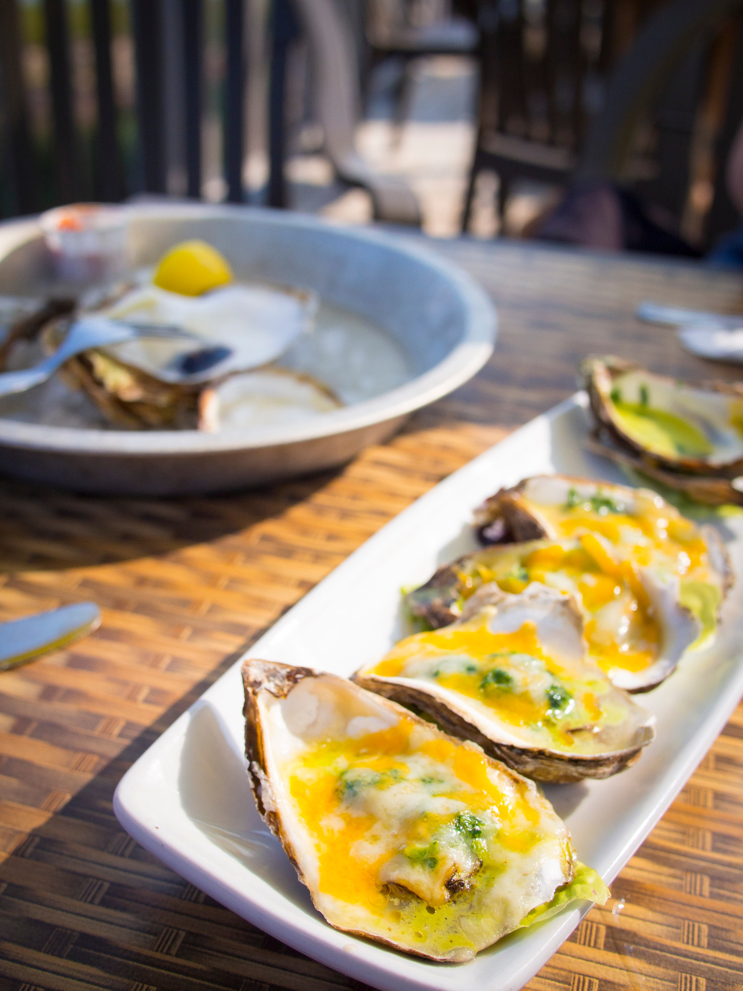 Where to Eat in PEI: Carr's Oyster Bar in New London has a great view and wide selection of oysters.