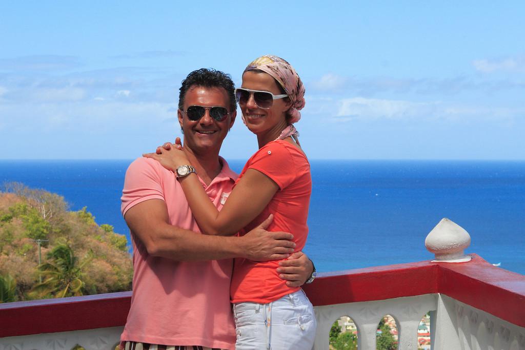 Couple on St. Lucia