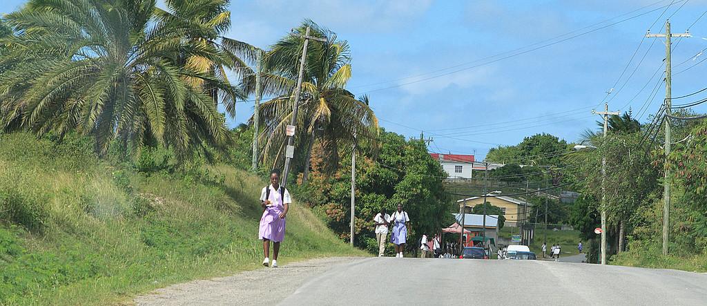 Schools over,Antigua