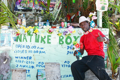 Nature Boy at Long Bay Beach,Tortola