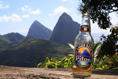 Piton and the Pitons,St. Lucia