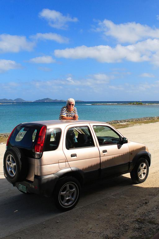 Rental car,Tortola