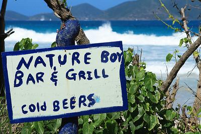 Nature Boy's ,Long Bay beach ,Tortola