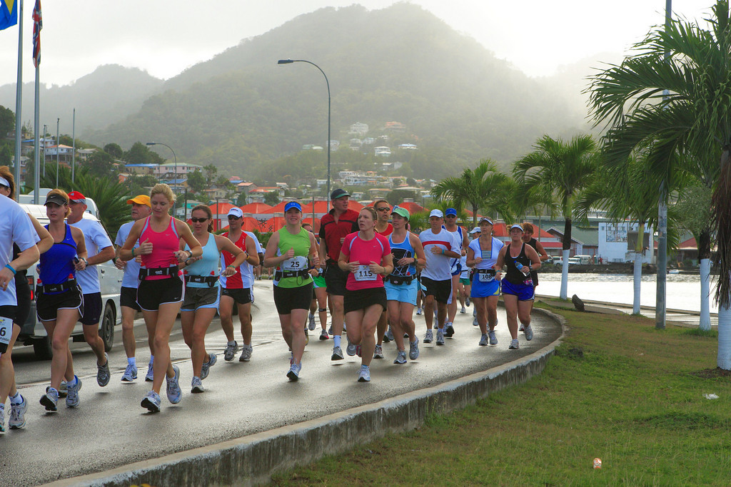 More cruisers running on St. Lucia
