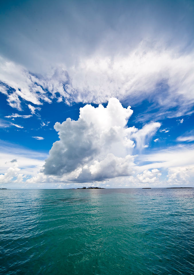 Cloud Over my Island. Abaco.