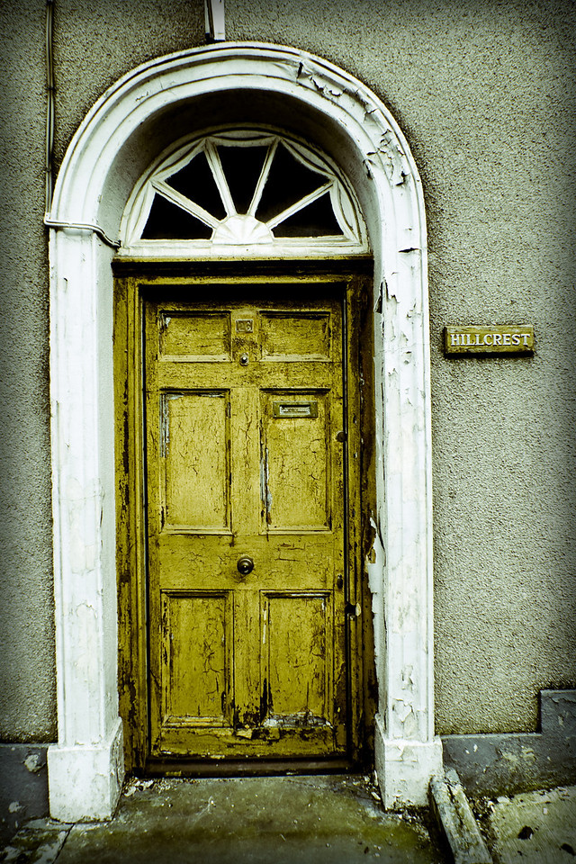 Door to Ireland.