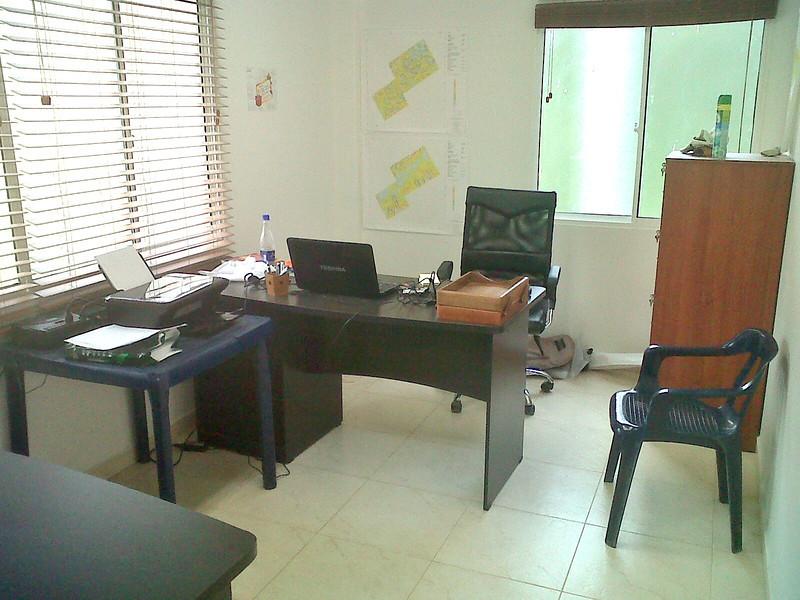 My office at El Porton, California