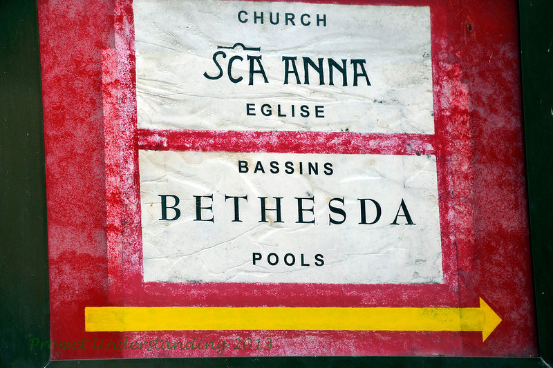 Soon inside, is the Bethesda pools where Christ cured a crippled man and St. Ann's Crusader Church where some claim Mary was born.