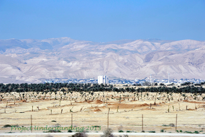 Here is the city of Jericho.